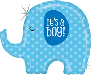 e7b59546a8f It s A Boy Blue Elephant Baby Shower Party 32