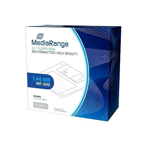MediaRange MR200Floppy Floppy Disc (1.4MB, Pack of 10)