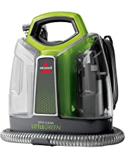 BISSELL Little Green  |  Portable Carpet Cleaner  |  Remove Spots, Spills & Stains  |  Clean Carpets, Stairs, Upholstery, Car Seats & More  |  3698L