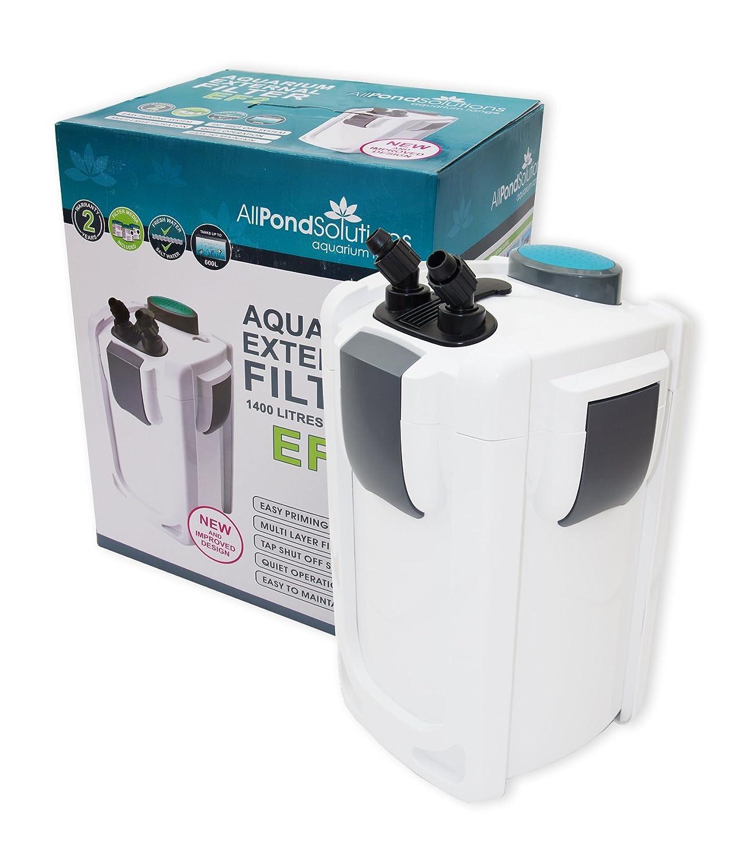 Aquarium fish tank external filter ef 1 1000l h - All Pond Solutions Ef1 Aquarium External Filter Amazon Co Uk Pet Supplies