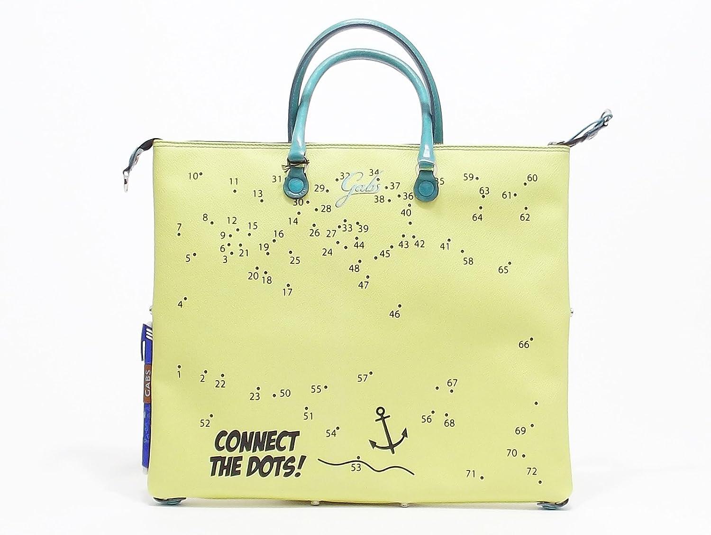 Gabs G3 Gioco borsa donna trasformabile in PVC colore giallo