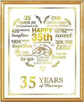 Hochzeitstag sprüche 35.