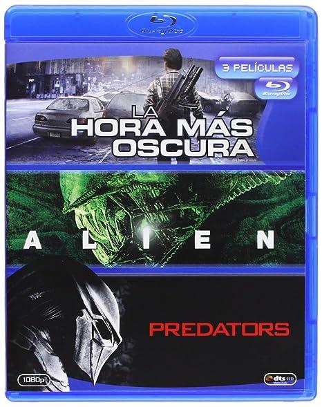 La Hora Mas Oscura / Alien 1 / Predators - Bd Tri Blu-ray: Amazon.es: Emile Hirsch, Olivia Thirlby, Sigourney Weaver, Tom Skerritt, Adrien Brody, Topher Grace, Chris Gorak, Ridley Scott, Nimrod Antal,