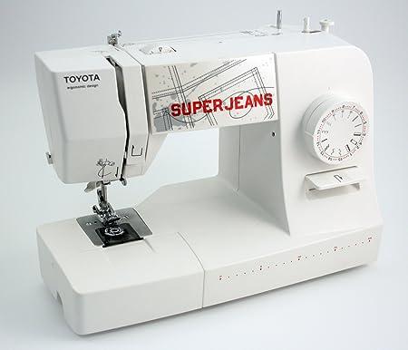 Toyota Super Jeans 15WE Máquinas de coser: Amazon.es: Hogar