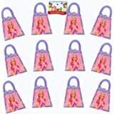 Barbie Birthday Party Favor Treat Boxes Bundle Pack of 12