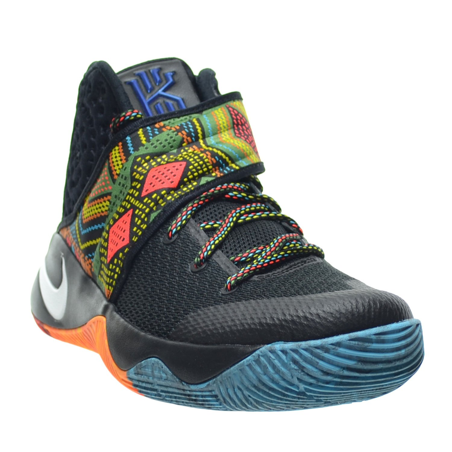 competitive price d5601 c69ff Amazon.com   Nike Kyrie 2 BHM Men s Shoes Black Multi-Color 828375-099    Basketball