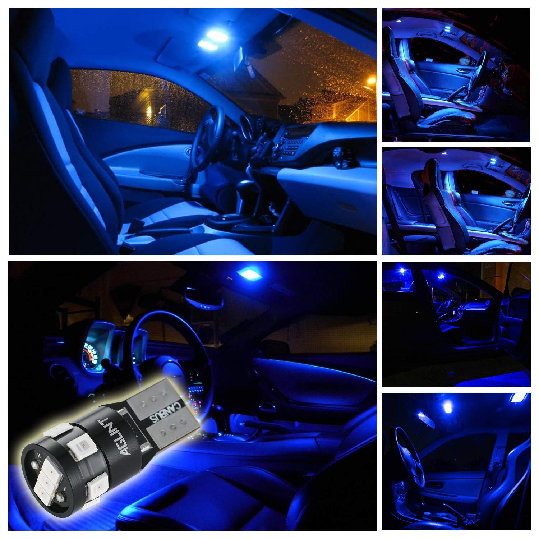 AGLINT T10 CANBUS LED Lampadine 12V W5W 194 168 2825 Cuneo Tipo Luci Dellautomobile Bulb 4300K 2835 9SMD La Luce Interna Dellauto Targa Lampade Luci Posizione LED
