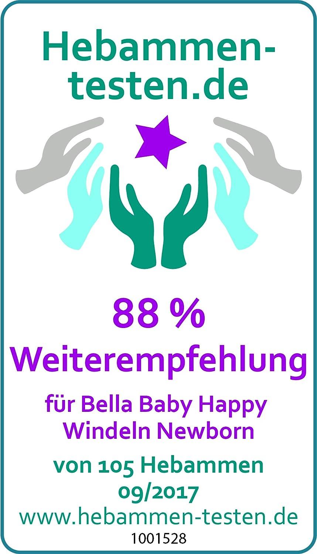 bella baby Happy Windeln gro/ß 1 1er Pack 1 x 78 St/ück Newborn 2-5 kg