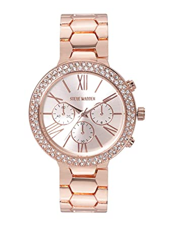 19ba0846286 Buy Steve Madden Analog Rose Gold Dial Women's Watch-SMW180Q Online ...