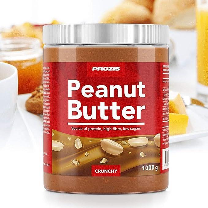 Prozis Peanut Butter 1kg - Deliciosa y de Textura Crujiente ...