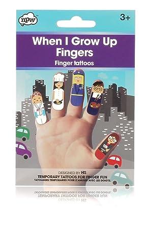 NPW Tatuajes de dedos NPW61260: Amazon.es: Juguetes y juegos
