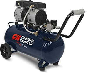 Campbell Hausfeld 8 Gallon Portable Quiet Air Compressor (DC080500)