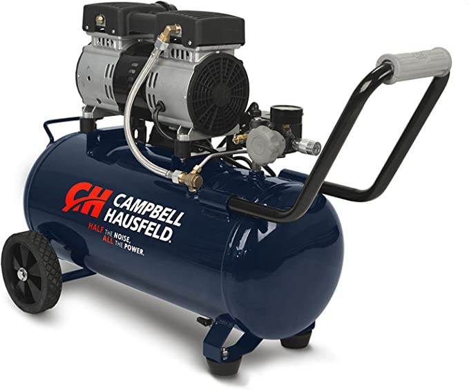 Compresores de Aire CAMPBELL Hausfeld Silencioso - Cap. 8.0 Galones