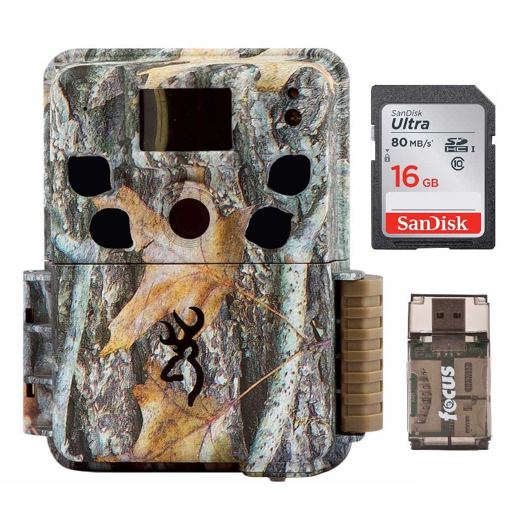 Browning Dark Ops HD Pro Trail Camera BTC-6HDP with 16GB Memory Card and Focus Card Reader by Browning Trail Cameras (Image #1)