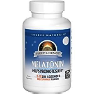 Amazon.com: Source Naturals Sleep Science Melatonin 2.5mg Orange ...