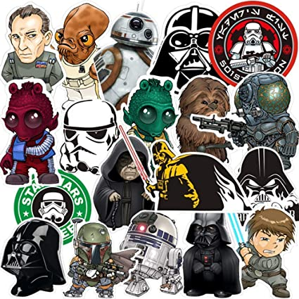 BRAND NEW STAR WARS STICKER PACKS 51 STICKERS INCLUDED,3 SHEETS