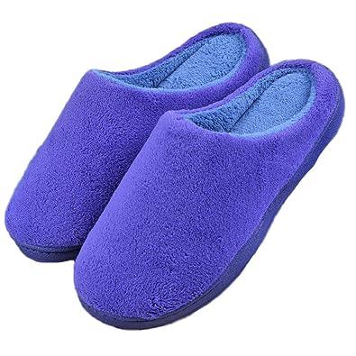 Summer Mae Zapatillas Casa Invierno Anti-Deslizante Zapatos Interior Cálido Para Mujeres/Hombres NI2ER1Gi