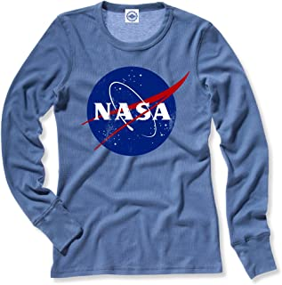 product image for Hank Player U.S.A. Official NASA Logo Women's Thermal T-Shirt