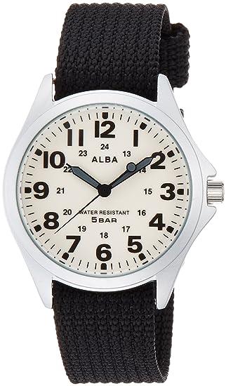 buy popular 1a251 6a9ef Amazon | [セイコーウォッチ] 腕時計 アルバ クオーツ 全ルミ ...