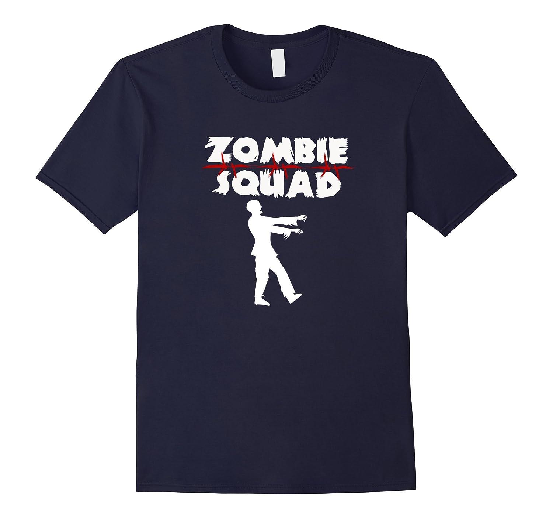 Zombie Squad T-Shirt Funny Horror Lover Shirt-FL