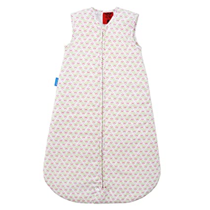 GRO de Bag – Saco de dormir infantil Travel Hetty Pop blanco/rosa Talla