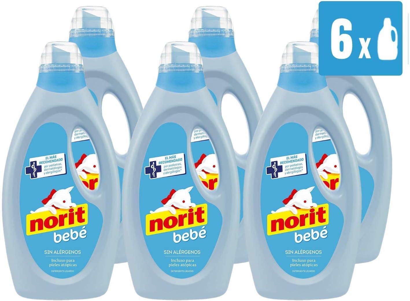 Norit Bebé - Detergente Líquido especial para Bebé y Pieles ...