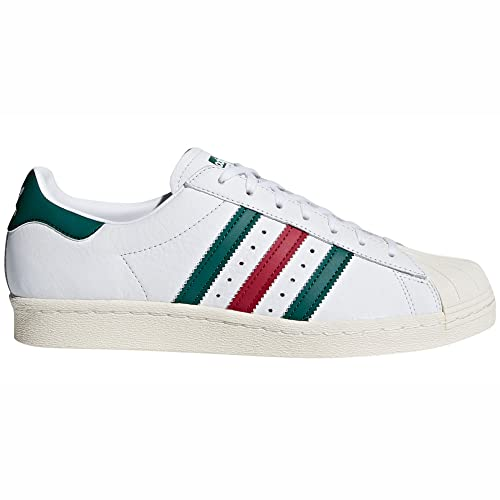 100% authentic e6a7f dd3ae adidas Originals Superstar 80quotSneakers da Uomo in Pelle Bianca (42 23