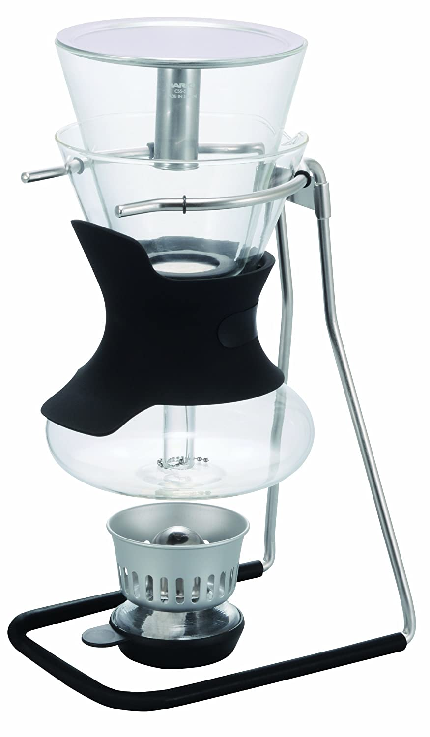 Hario SCA-5 1-Piece Glass 5-Cup Syphon Coffee Maker, Glass
