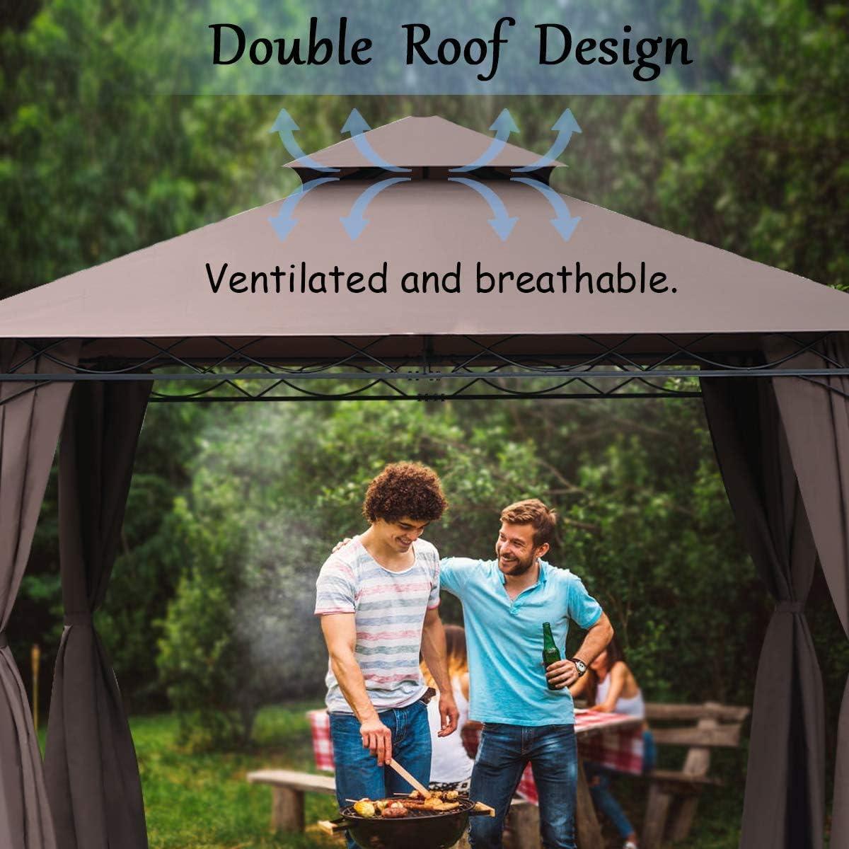 Patio Furniture & Accessories Canopies, Gazebos & Pergolas Heavy ...