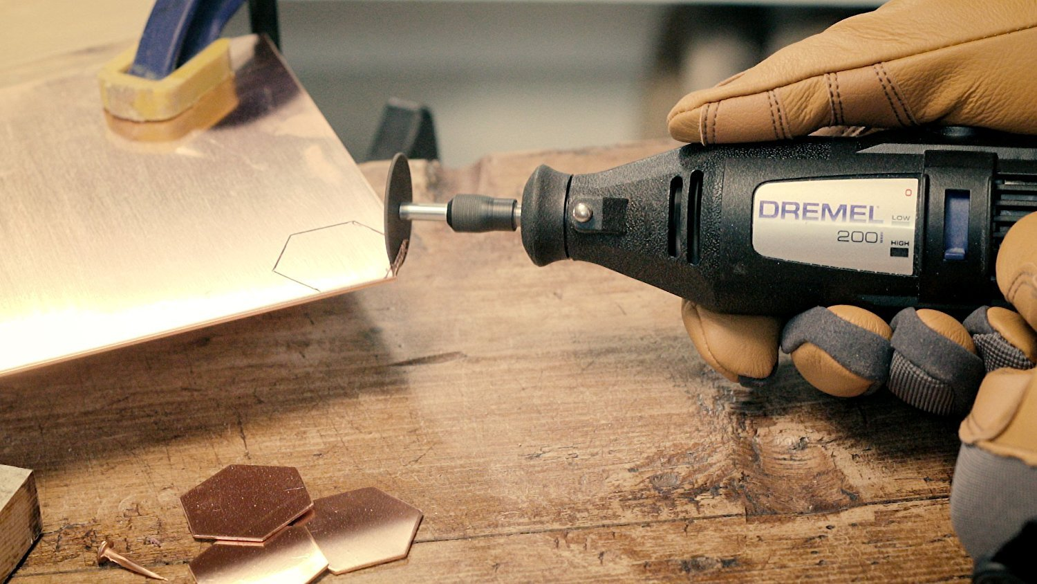 Dremel 2290 3-Tool Craft & Hobby Maker Kit with 200-Series Rotary Tool, Engraver & Butane Soldering Torch w/ Hatch Project Kit by Dremel (Image #4)
