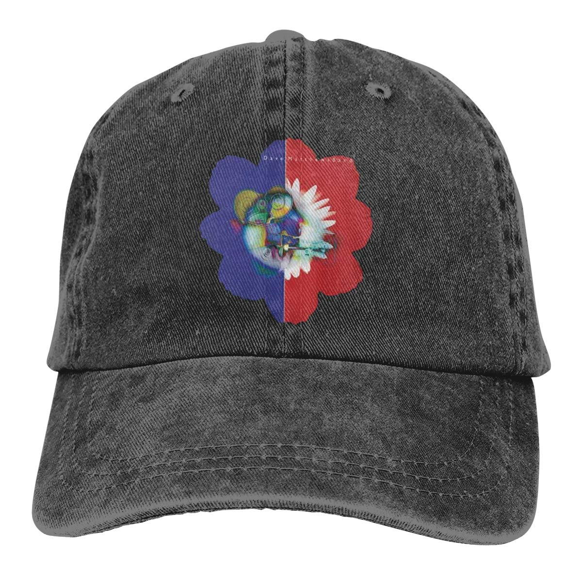 Feeling Unique Dave-Matthews Vintage Jeans Baseball Cap Classic Cotton Dad Hat Adjustable Plain Cap Black