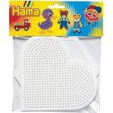Hama - 4454 - Loisirs Créatifs - Perles et Bijoux - Grand Hexagone / Coeur
