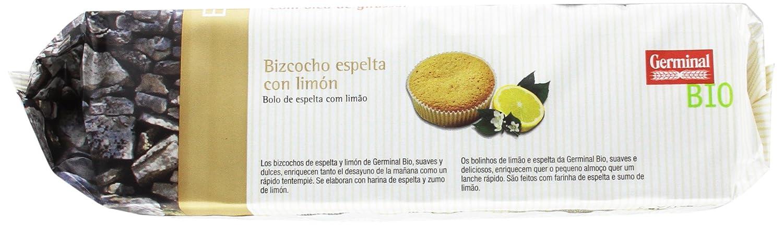 Germinal Bizcocho de Espelta con Limón - Paquete de 12 x 180 gr - Total: 2160 gr: Amazon.es: Alimentación y bebidas