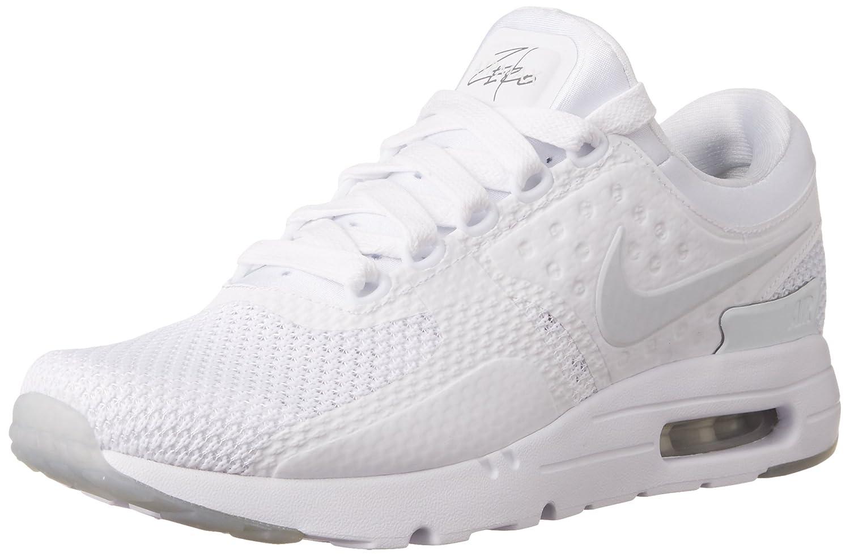 factory authentic 654df b4855 Amazon.com   Nike Mens Air Max Zero QS Running Shoe (8 D(M), White Pure  Platinum PR Pltnm)   Shoes