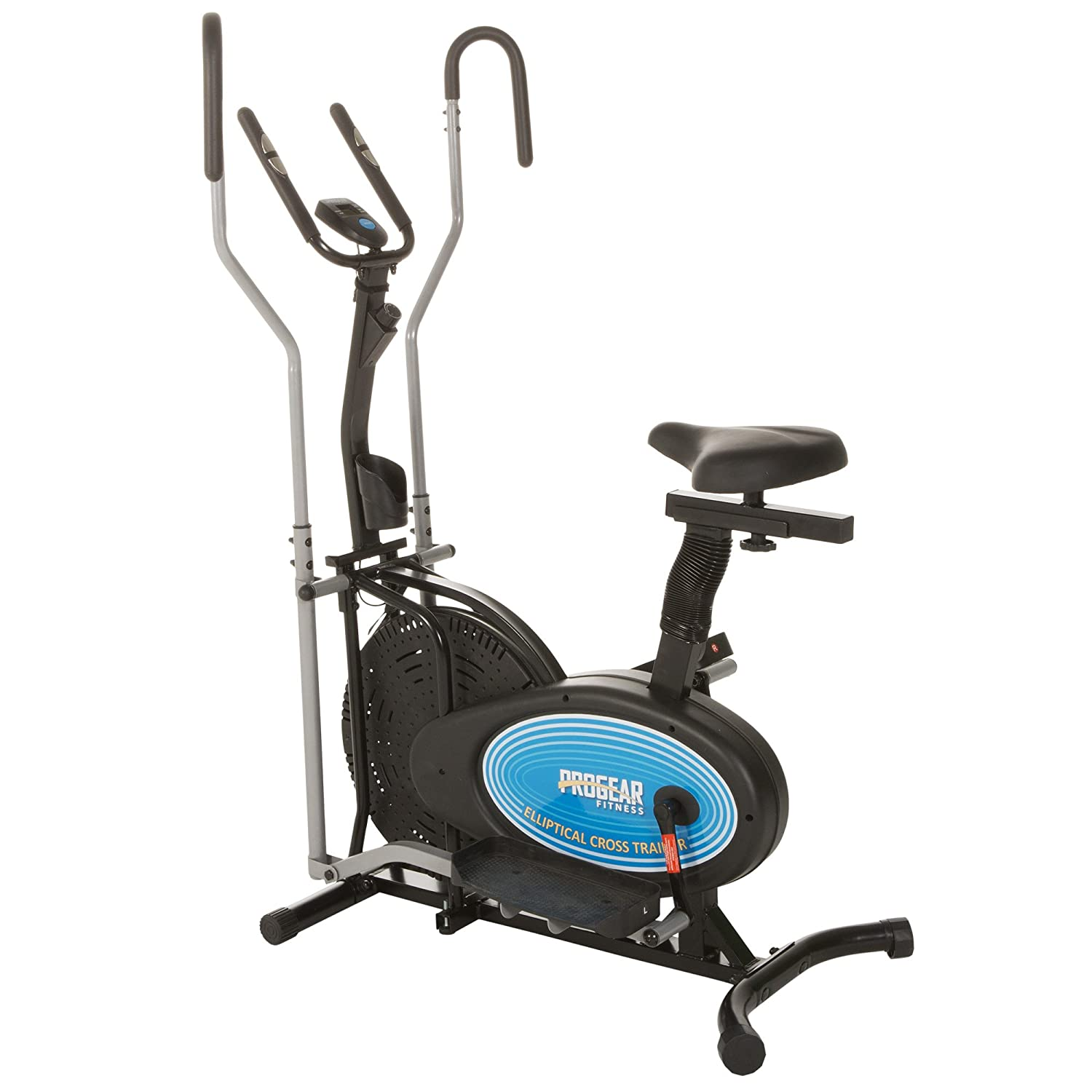 ProGear 400LS 2 Dual Trainer Elliptical & Exercise Bike with Pulse Sensor: Amazon.es: Deportes y aire libre