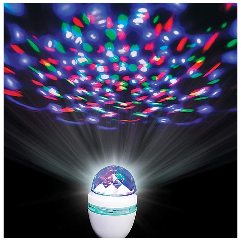 Lumistick Rotating Disco Ball LED Light Bulb (50 Pack)