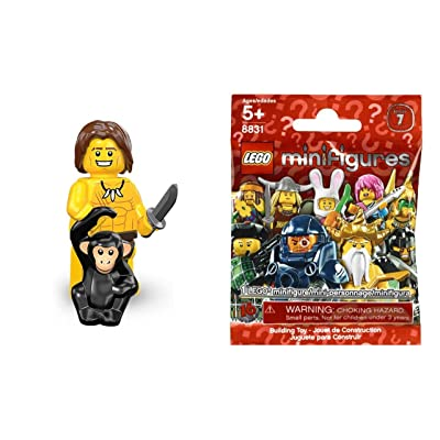 Lego Series 7 Jungle Boy Mini Figure: Toys & Games