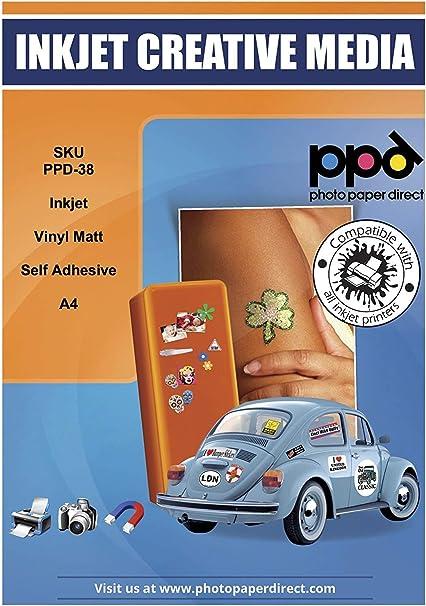 PPD Pegatinas de vinilo con acabado mate para impresión de ...