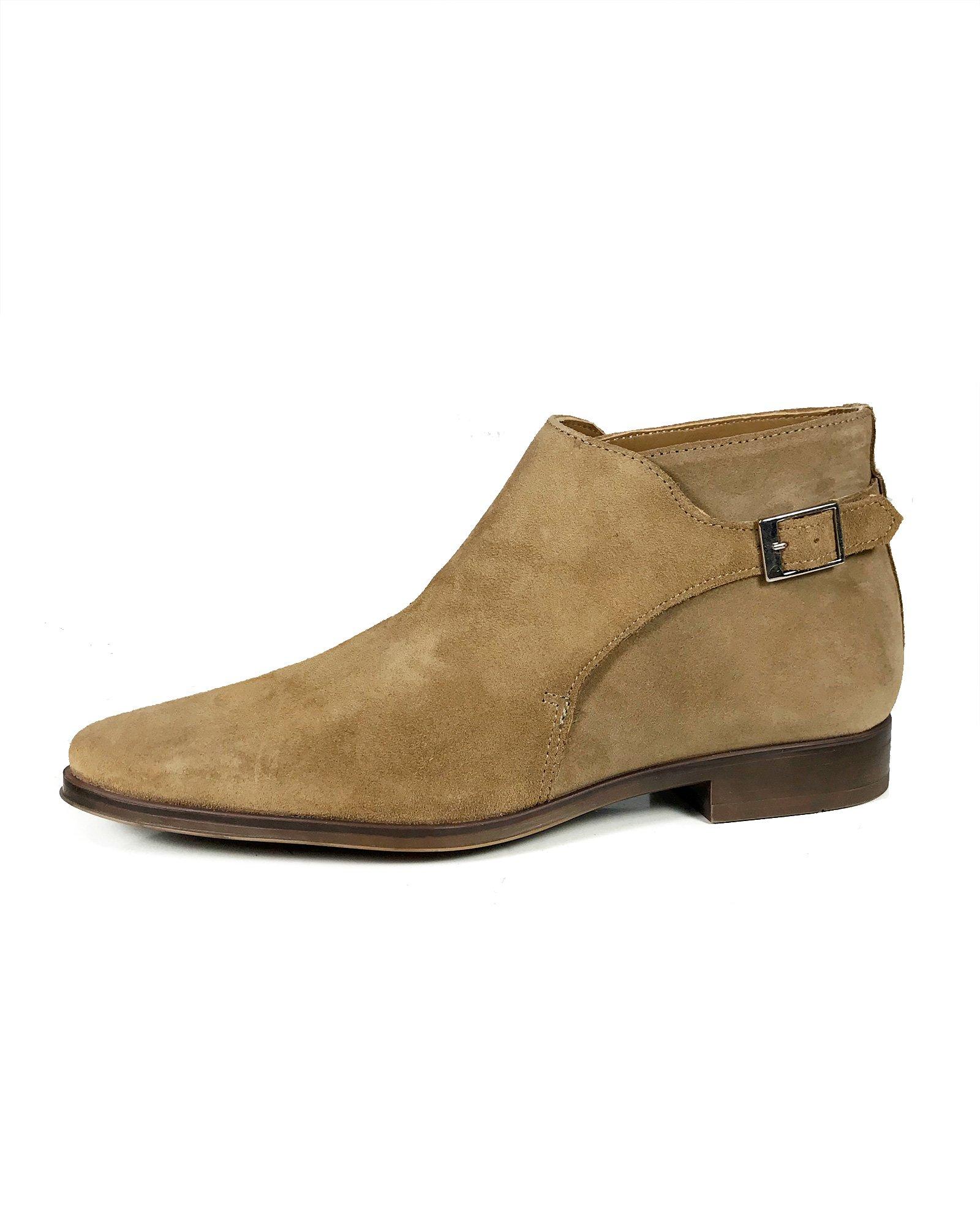 Zara Men Beige leather ankle boots 5603/202 (44 EU | 11 US | 10 UK) by Zara