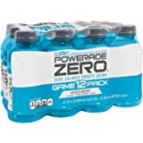 POWERADE ZERO Mixed Berry, 12 ct, 12 FL OZ Bottle