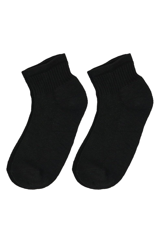 Mens Premium Sports Crew No Show Quarter Socks 4 Pairs