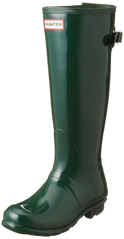 Hunter Womens Original Back Adjustable Gloss Rain Boots WFT1001RGL