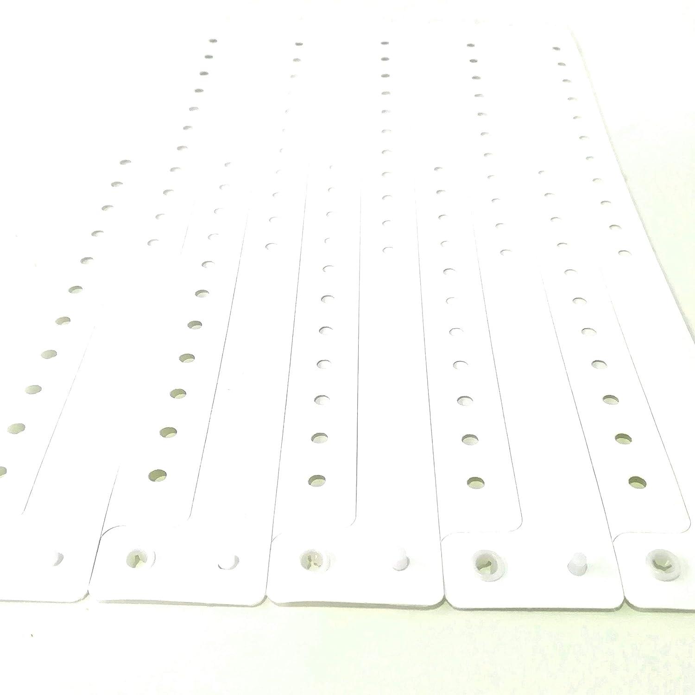 100 braccialetti in plastica per eventi personalizzabili e impermeabili oro