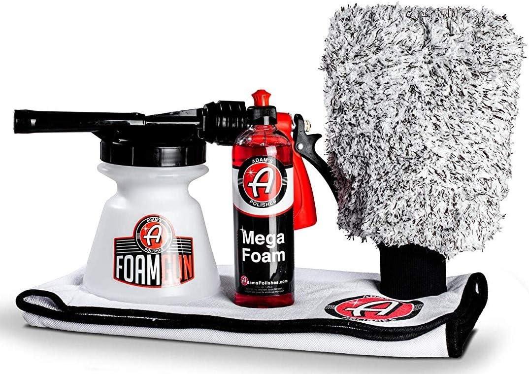 Adam's Foam Wash & Dry Detailing Kit