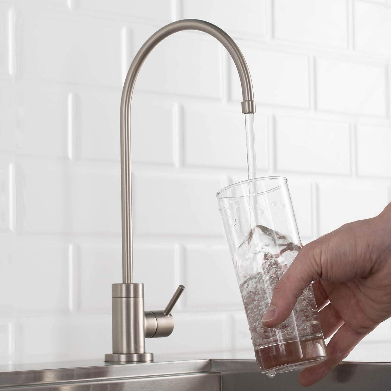 Kraus FF-100SFS Purita 100/% Lead Kitchen Water Filter Faucet Spot Free Stainless Steel