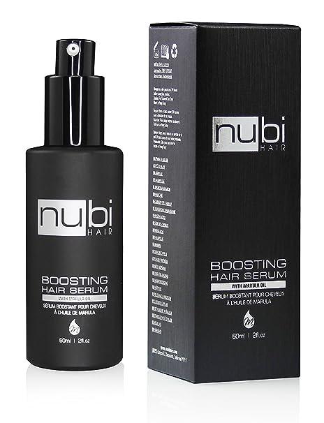 Nubi Hair Sérum capilar con aceite de marula , vitamina ey aloe vera 60ml / 2oz