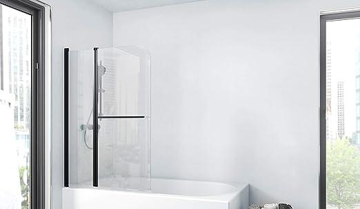 Marwell BWF285 Factory - Pared plegable para bañera, color negro ...