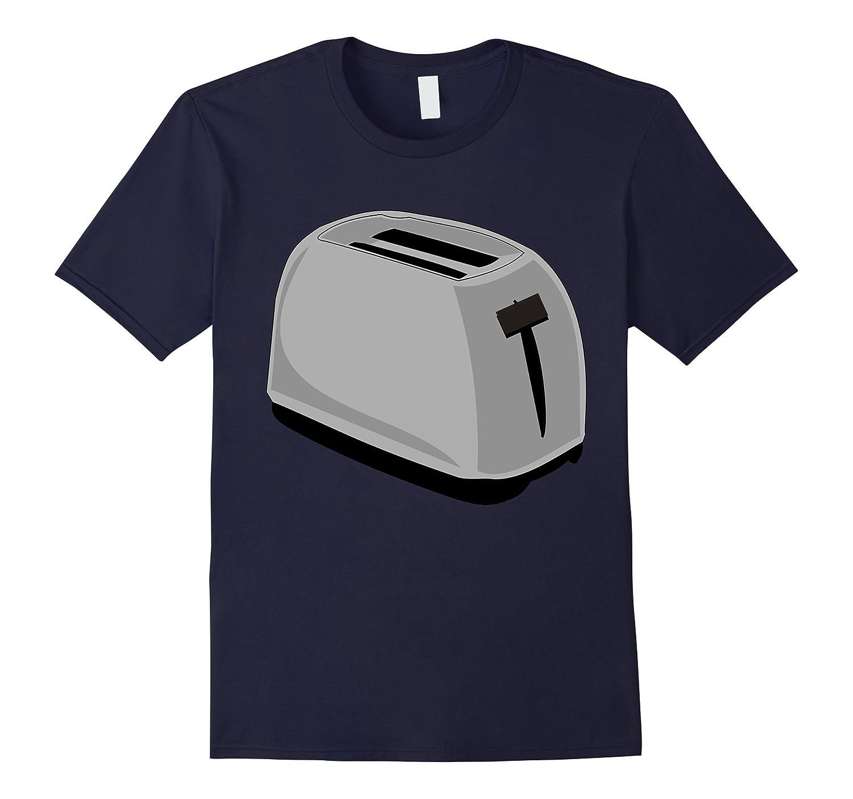 Toaster Costume T-Shirt Breakfast Kitchen Appliance Cook-T-Shirt