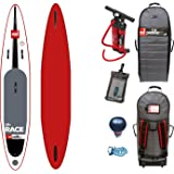"Red Paddle Co RACE MSL 12'6 x 28"" (2017 Series) Includes Bundle. Titan Pump - Backpack - ERS Pressure Gauge + Pumped Up SUP Sticker"