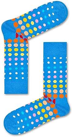Happy Socks Men's Faded Disco Dot Sock